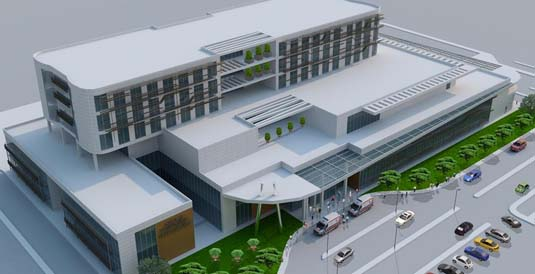 Sakarya 200 Yataklı Kadın Doğum ve Çocuk Hastanesi'nin yapımında sona gelindi