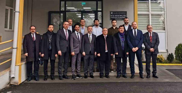 Vali Nayir'den SAÜ Diş Hekimliği Fakültesine Ziyaret