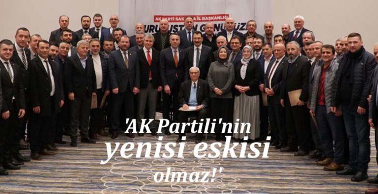'AK Partili'nin yenisi eskisi olmaz!'