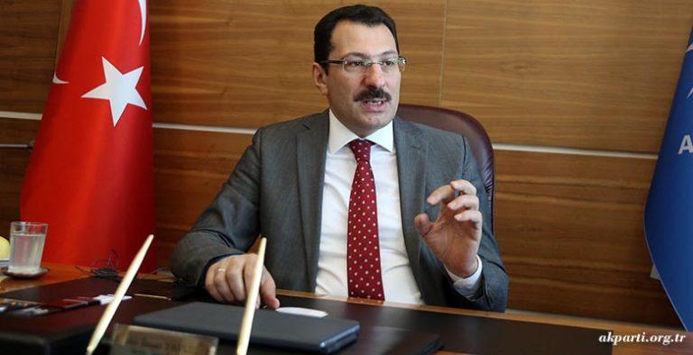 Ali İhsan Yavuz'dan Kovid-19'a ilişkin açıklama