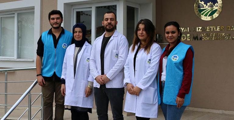 YADEM'den 'Hasta Yıkama Hizmeti'