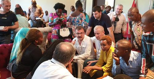 STB heyeti, Tanzanyalı iş insanlarıyla ikili iş görüşmesi yaptı