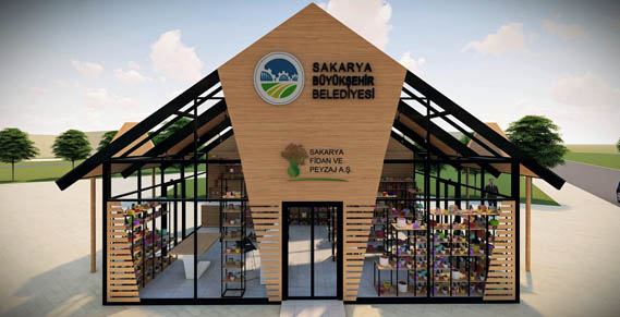 Büyükşehir süs bitkileri için satış ofisleri açıyor