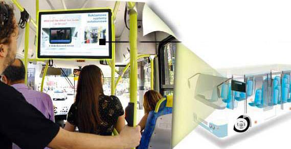 Büyükşehir otobüslere dijital reklam ekranları koyacak