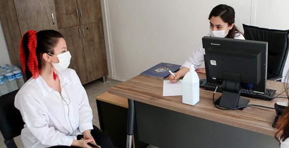 Tıp Merkezi'nde diyetisyenlik polikliniği hizmete başladı