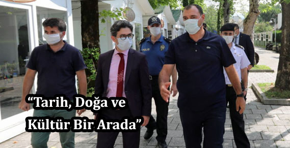 Vali Çetin Oktay Kaldırım Sapanca'yı ziyaret etti