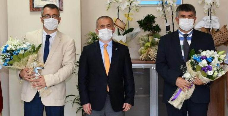 Prof. Dr. Oğuz Karabay göreve başladı