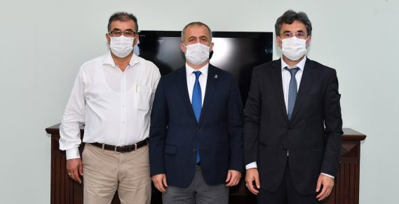 Daşçıoğlu, görevi Prof. Dr. Necmettin Alkan'a devretti