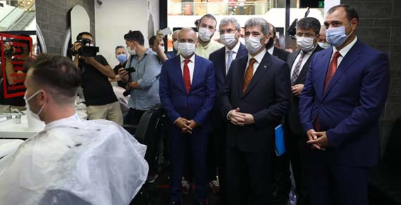 Sakarya'da 3 bin 150 personelle koronavirüs denetimi yapıldı