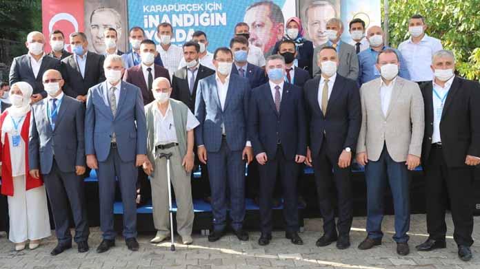 Karapürçek'te yeni başkan Ümit Bodur oldu