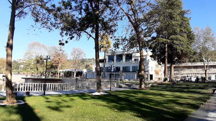 Hotel Del Lago Sapanca açılışa hazırlanıyor