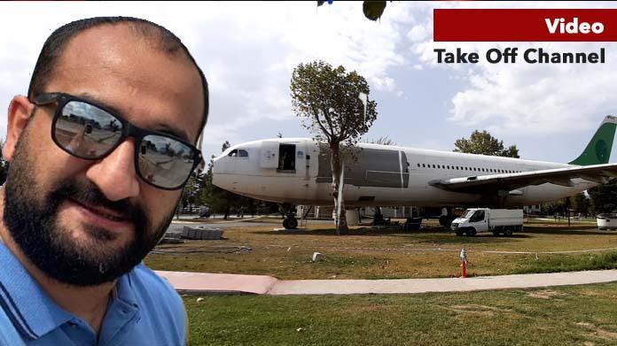 O uçağın her yerine girdi!