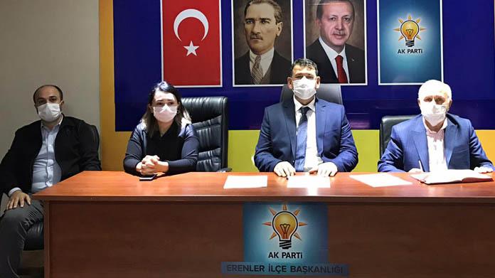 AK Parti Erenler'de Yürütme Kurulu belli oldu