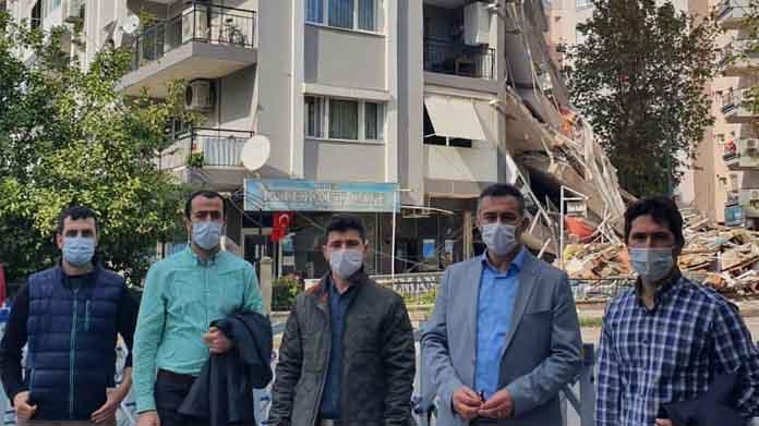 SUBÜ Heyeti İzmir'de yapı kalitesini ve sonuçlarını analiz ediyor