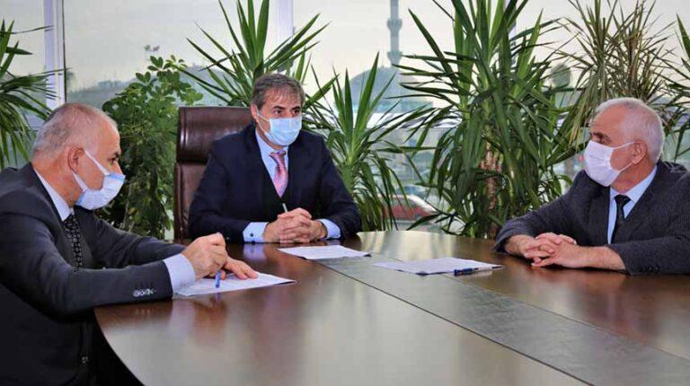 Maske üretimi için protokol imzalandı