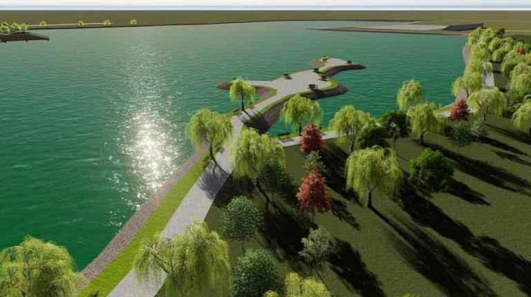 Arifiye Gölya Tabiat Parkı inşaat çalışmaları tüm hızıyla sürüyor
