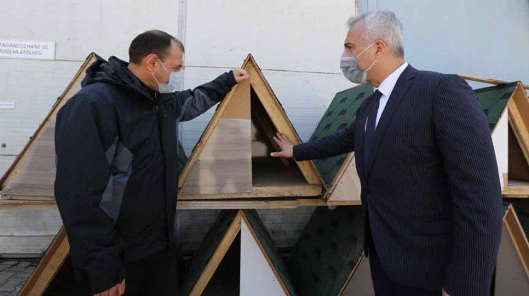 Babaoğlu projelerini anlattı