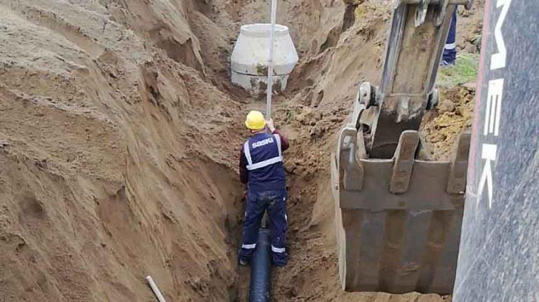 Sakarya'nın kuzeyinde altyapı yenileme çalışmalarını devam ediyor