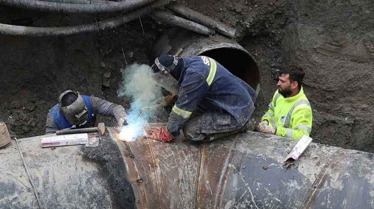 SGK Köprülü Kavşak Projesi'nde deplase çalışmaları tamamlandı