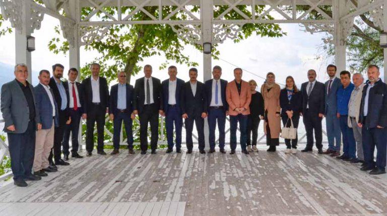 İpekyolu Belediyeler Birliği Sapanca'da Toplandı